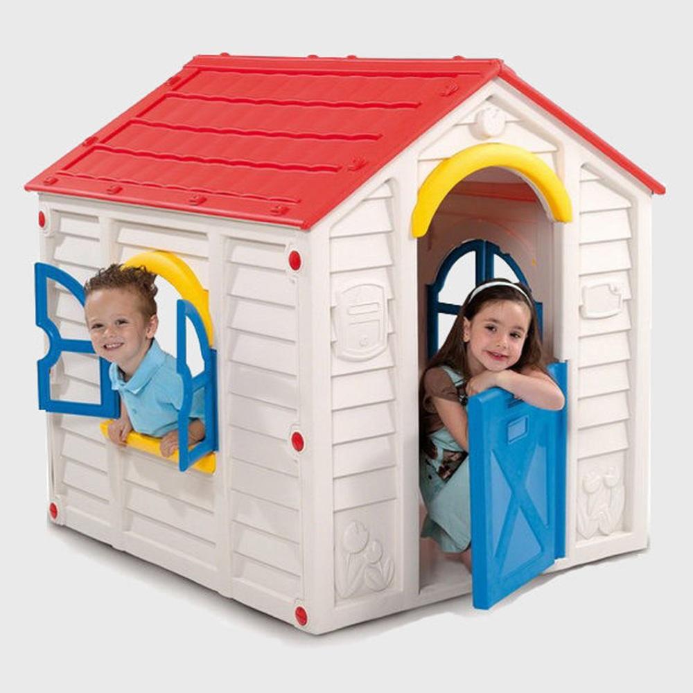 Домик для детей пластмассовый фото