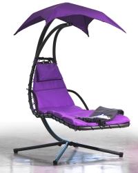 переносной гамак фиолетовый